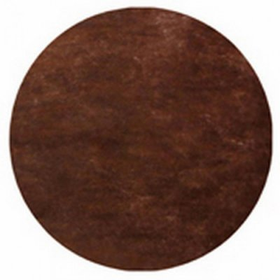 Sets de Table Ronds Papier Intissé Chocolat (Lot de 50)