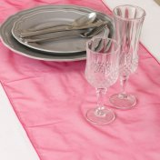 Chemin de Table Organza Rose Fushia (Lot de 5)
