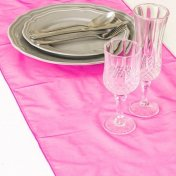 Chemin de Table Mariage Organza Rose Franboise (Lot de 5)