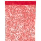 Chemin de Table Fanon Rouge 5 m x 30 cm