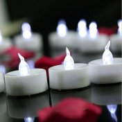 6 Bougies Led Décoration Mariage