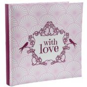 "Livre d'or ""With Love"" rose"