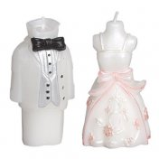 Bougie Figurine Mariage Homme ou Femme