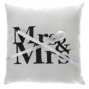 Coussin d'alliances Mr & Mrs