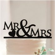 Figurine mariage silhouette Mr & Mrs